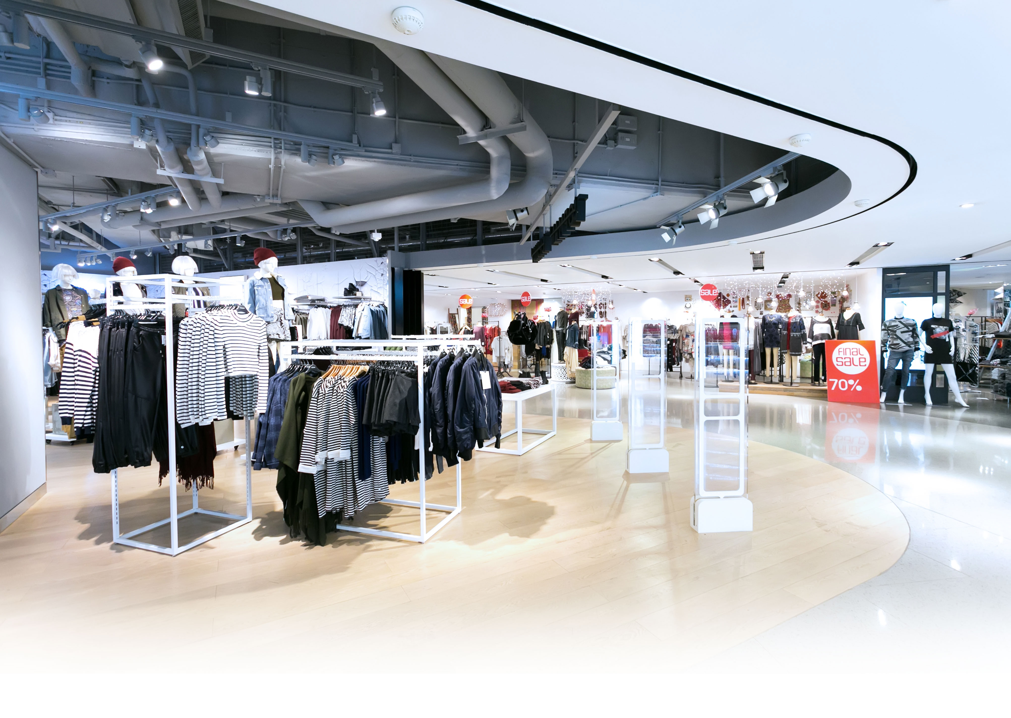 Energy efficient retail shoplights