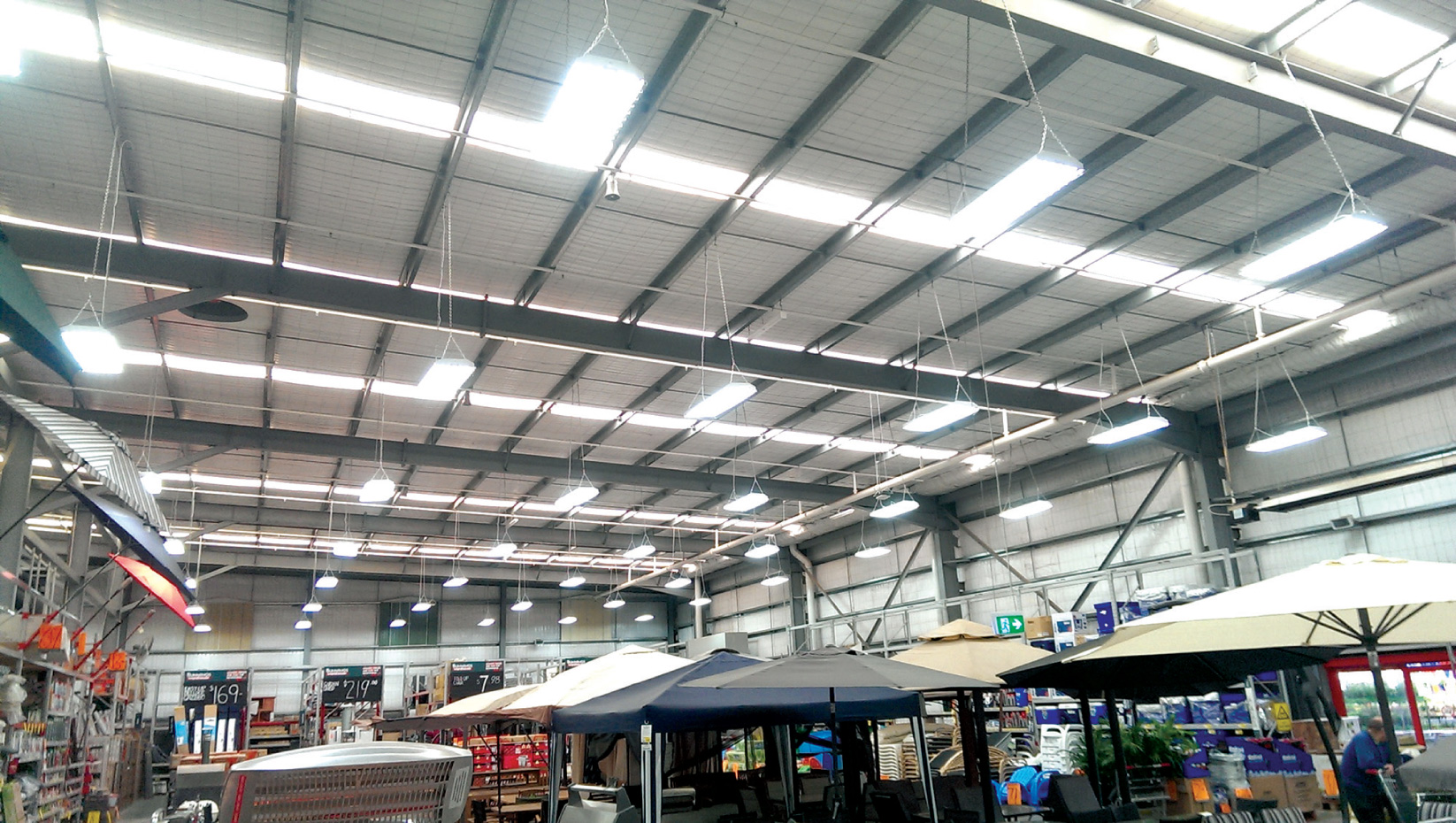 Energy Efficient LED lighting warehouse upgrade