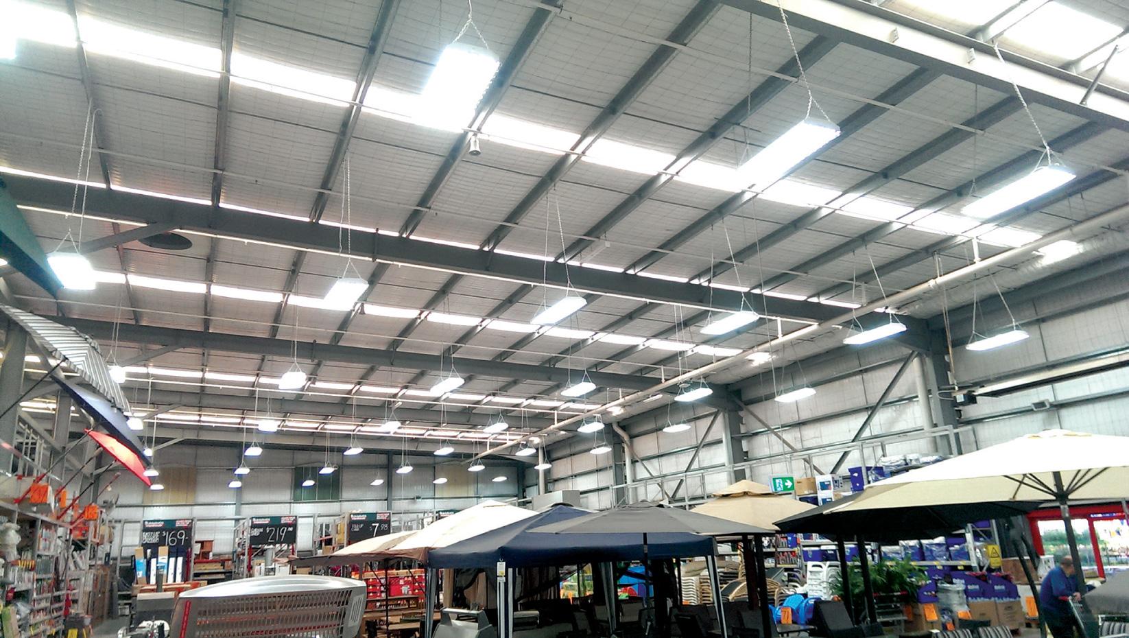 Energy Efficient LED lighting warehouse upgrade