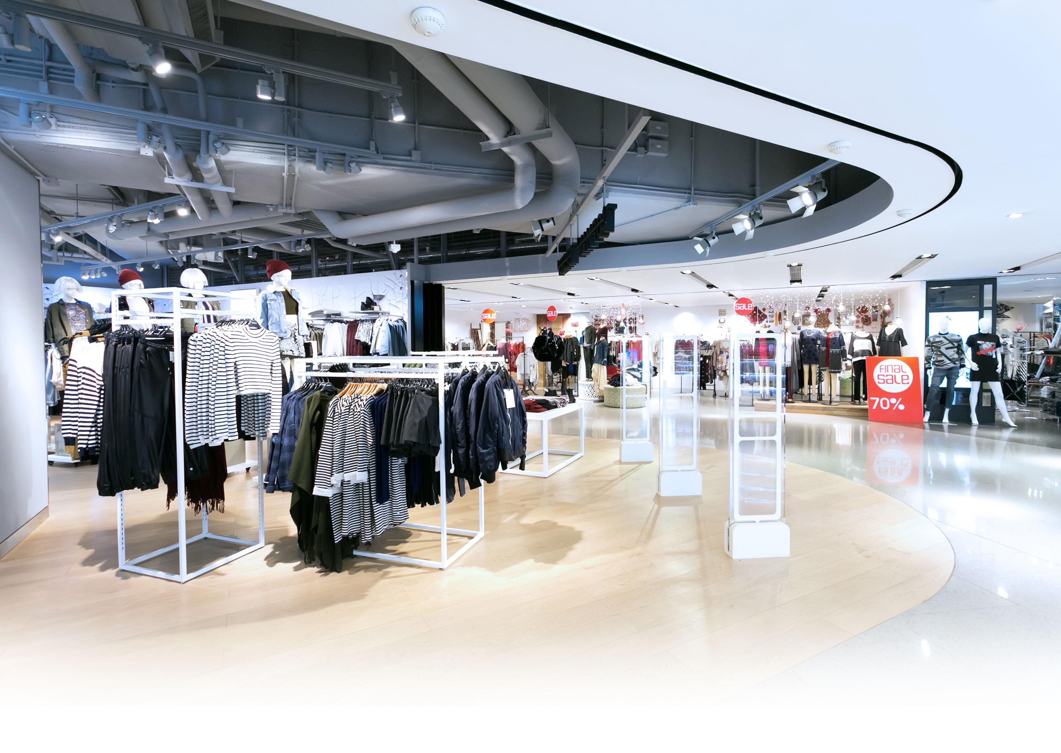 Energy efficient retail shoplights