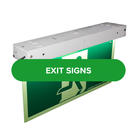LED energy efficient exit signs